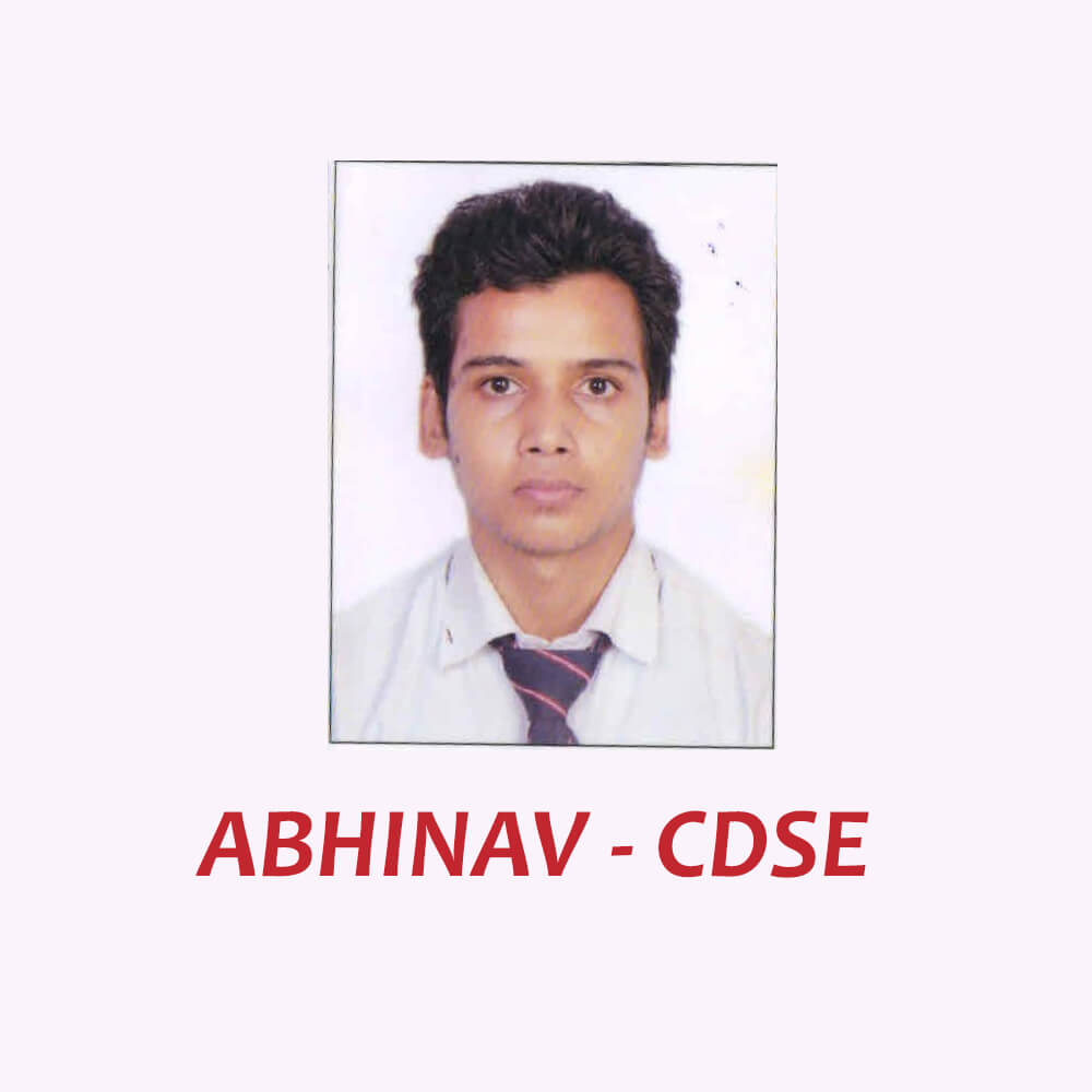 Doon Defence Career Point CDSE Selected Student Abhinav