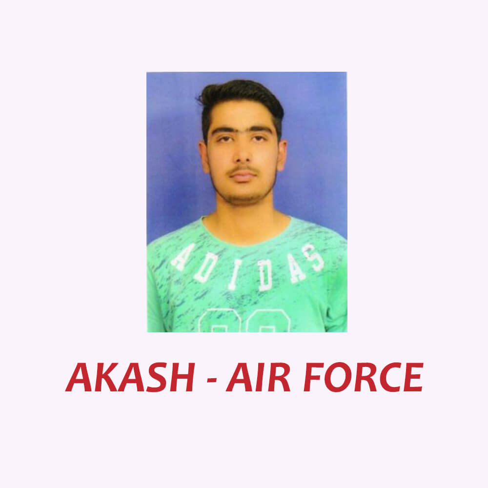Doon Defence Career Point Air Force Selected Student Akash