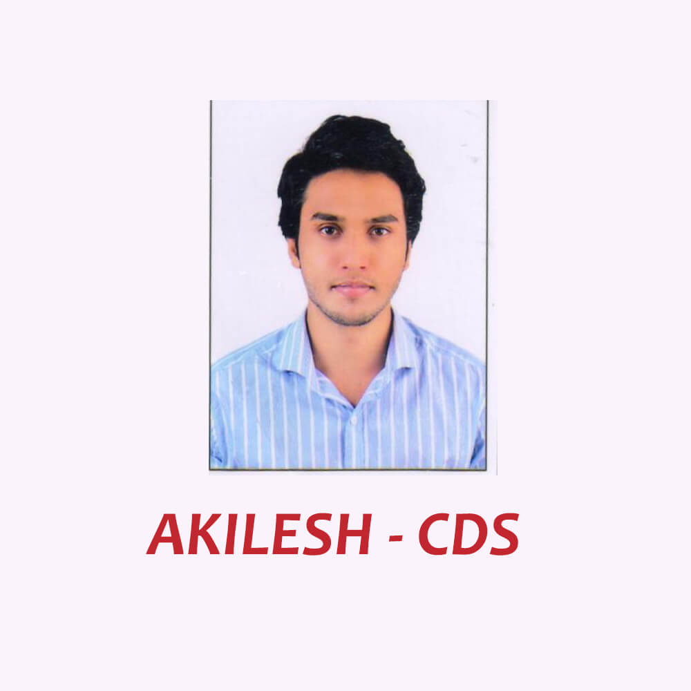 Doon Defence Career Point CDS Selected Student Akilesh