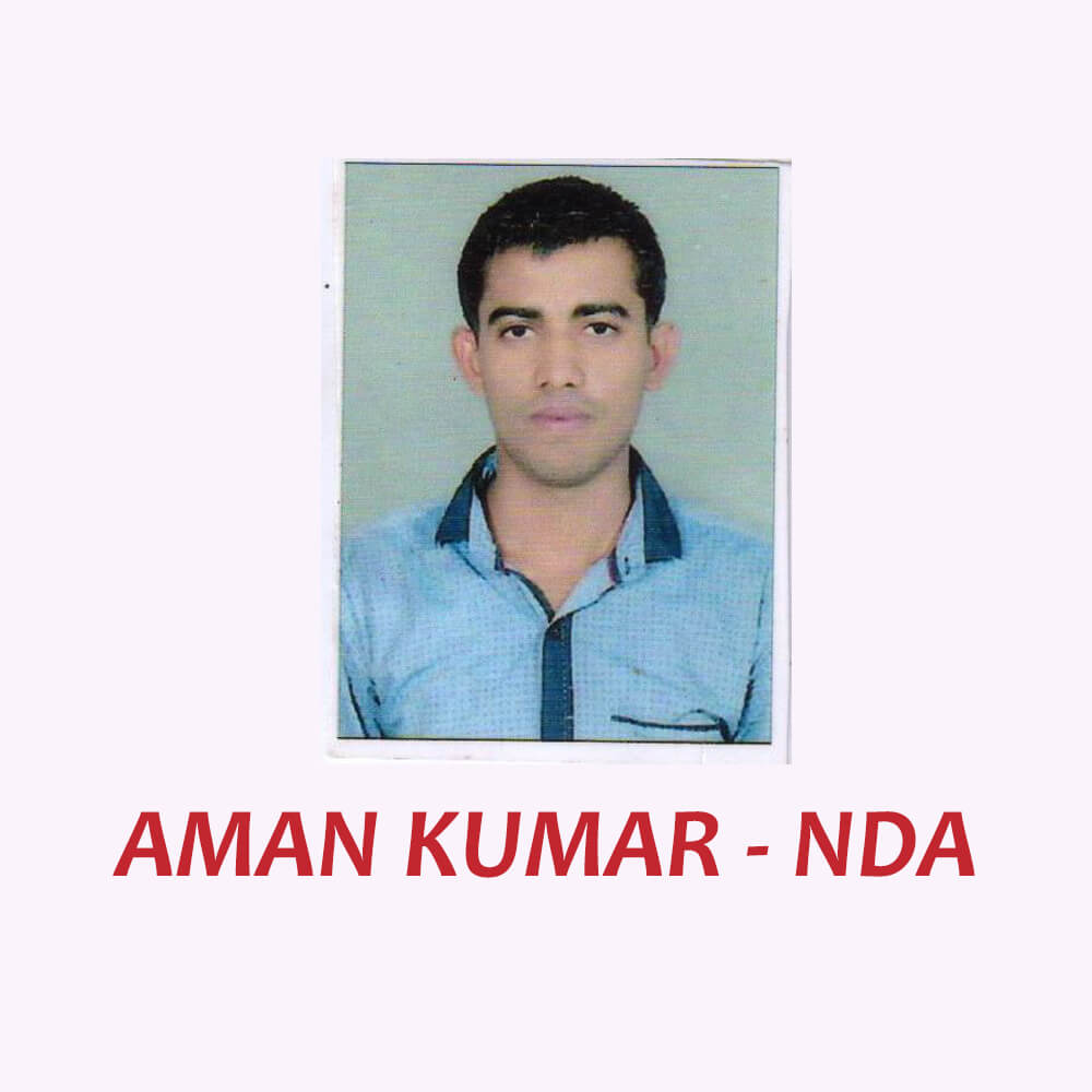 Doon Defence Career Point NDA Selected Student Aman Kumar