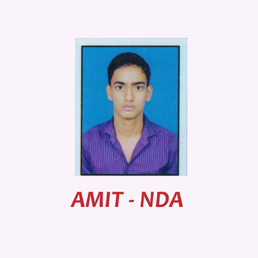 Doon Defence Career Point NDA Selected Student Amit